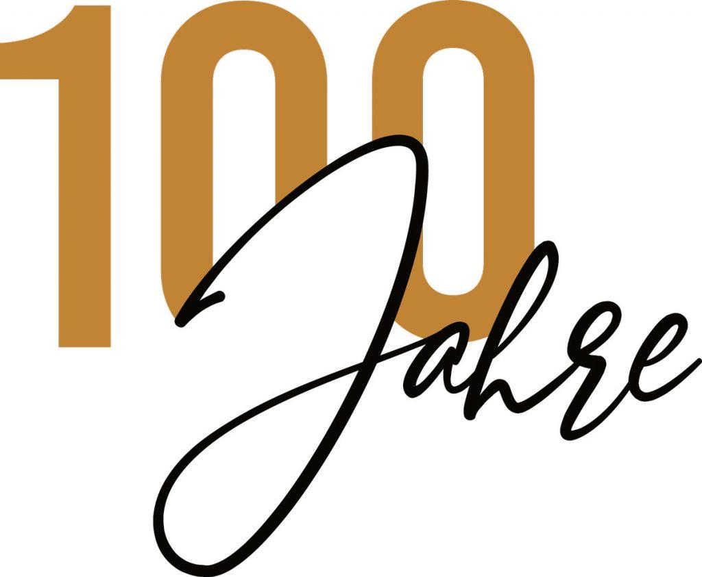 Schriftzug_100_Jahre_gold